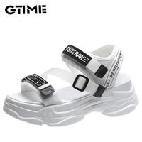 platform womens sandals summer shoes buckle slides casual sandals womens sports shoes summer sjpae 149