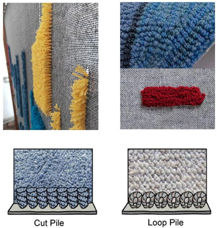 110V-240V Electric Hand Carpet Tufting Gun Weaving Flocking Machines Loop Pile Cut Pile Knitting Machine Flocking Industrial enlarge