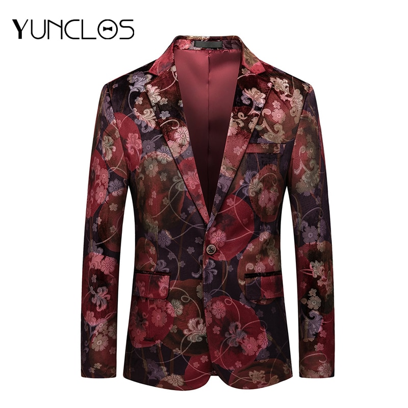 Hot Selling Fashion Men Blazers  Burgundy Red Blue Wedding Groom Suits Slim Fit Prom Costume Suit