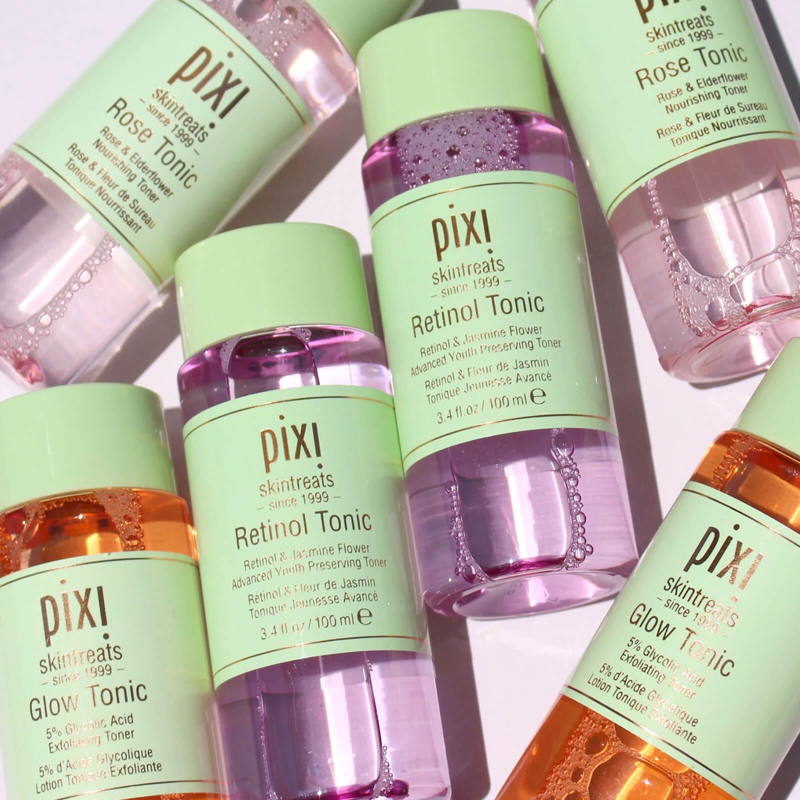 Pixi 5% Glycolic Acid Glow Tonic Moisturizing Oil-controlling Essence Toners Astringent for Female Makeup Cosmetics For Face glycolic acid 10