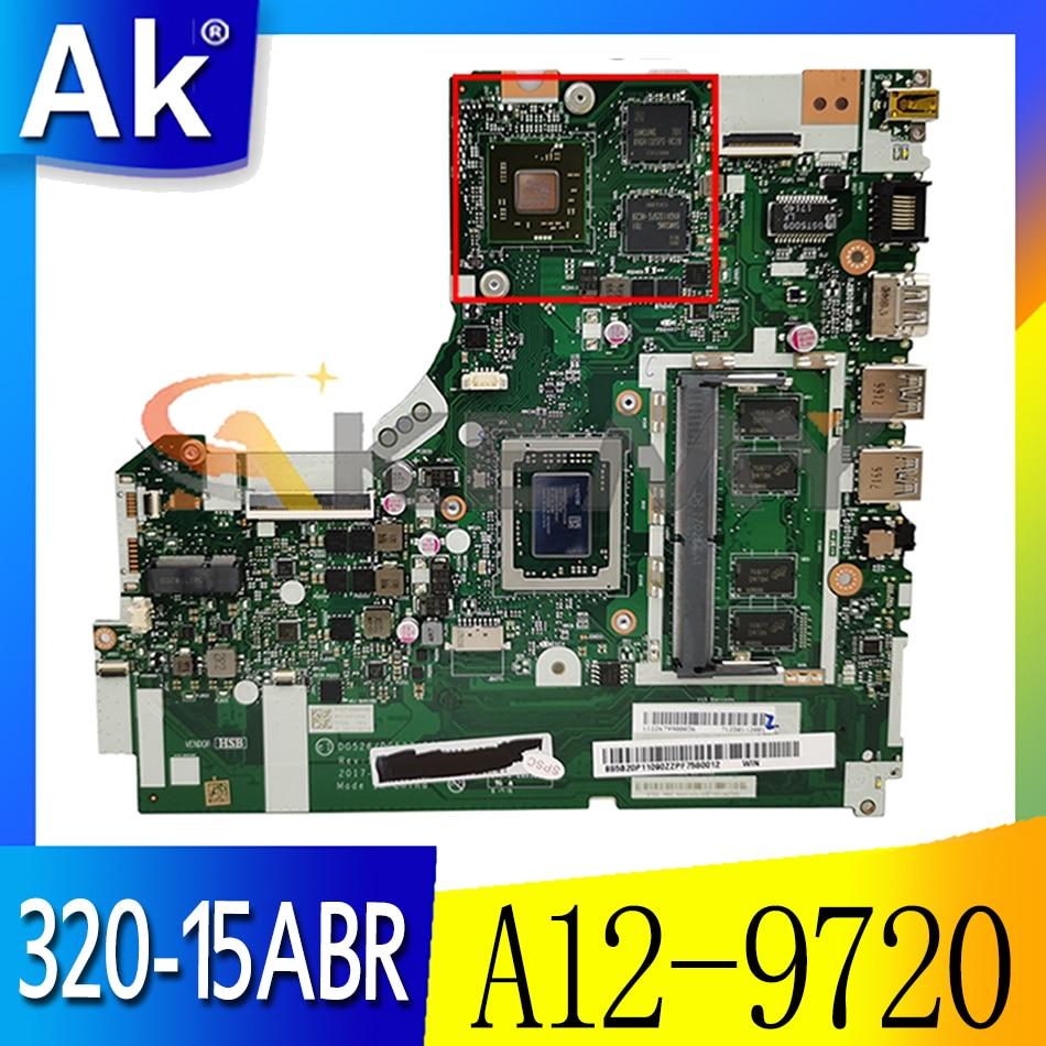 Akemy NMB341 NM-B341 مناسبة لينوفو 320-15ABR دفتر اللوحة CPU A12-9720 GPU R5 530 متر 2 جرام 100% اختبار العمل