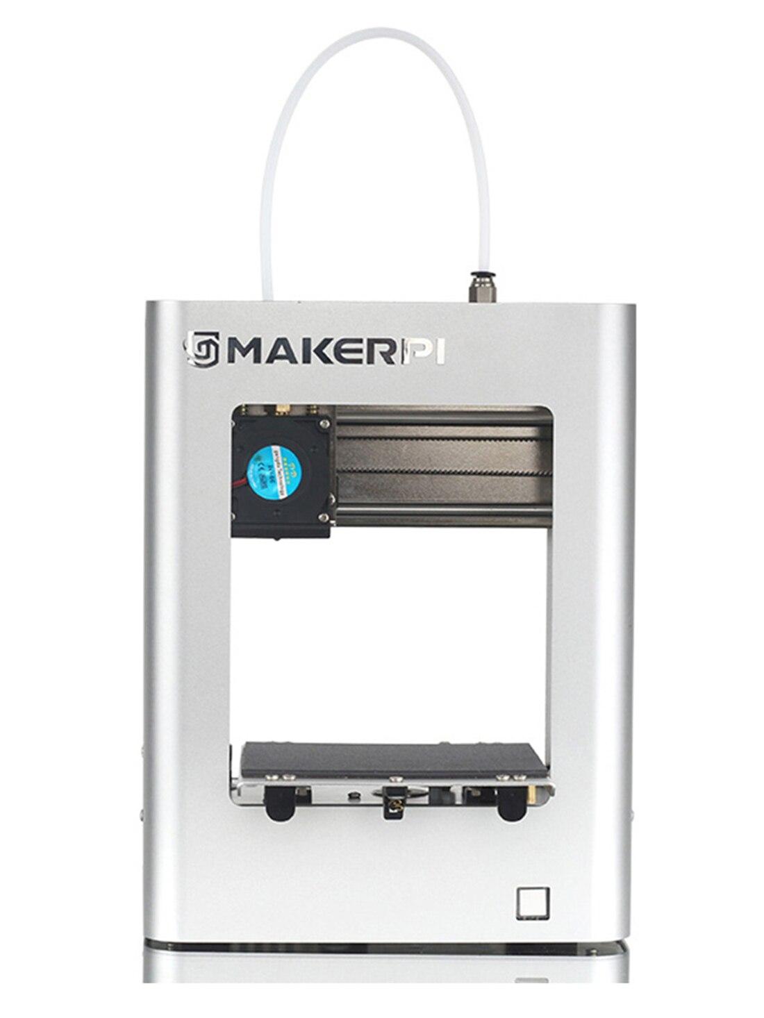 MakerPi Fdm طابعة صغيرة ثلاثية الأبعاد نانو دروكاركا Impresora رخيصة Imprimante السيارات التسوية منصة صغيرة