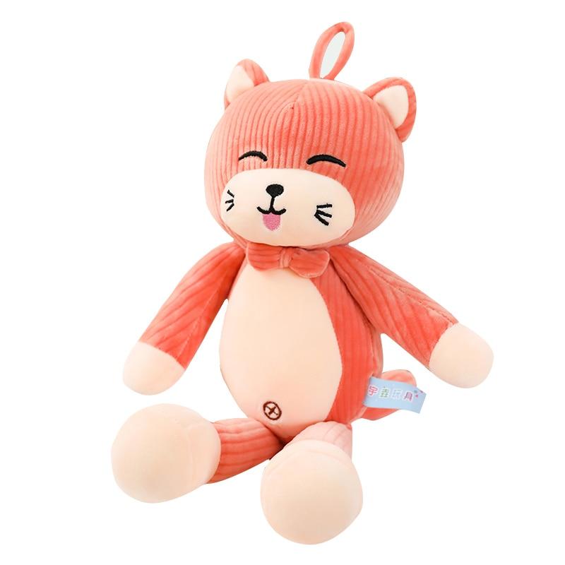 Плюшевая игрушка в виде кошки, мягкие игрушки для подарка на день рождения, плюшевая подушка в виде кошки, детский подарок для девочки, рожде...