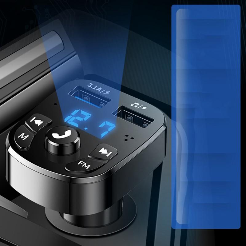 Автомобильный MP3-плеер, автомобильный свободные руки, автомобильный телефон, музыка, U-диск, автомобильные электронные аксессуары