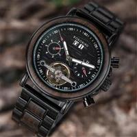 %d1%87%d0%b0%d1%81%d1%8b %d0%bc%d1%83%d0%b6%d1%81%d0%ba%d0%b8%d0%b5 watches men bobo bird wooden automatic mechanical wristwatch top luxury fashion luminous hands chronograph gift box