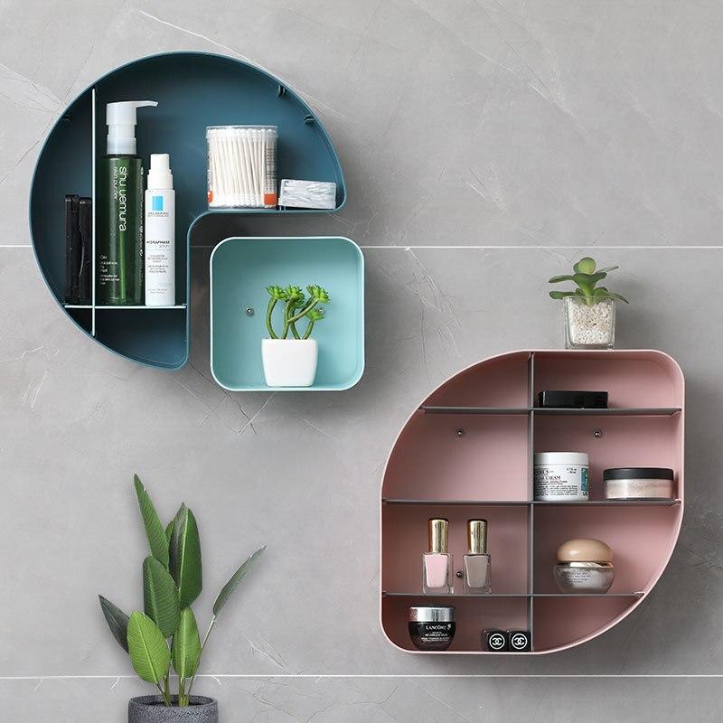 Wbboming الإبداعية تركيبة مجانية الوركين الحائط غرفة المعيشة رفوف التخزين المطبخ الحمام التخزين المنظم الحاويات