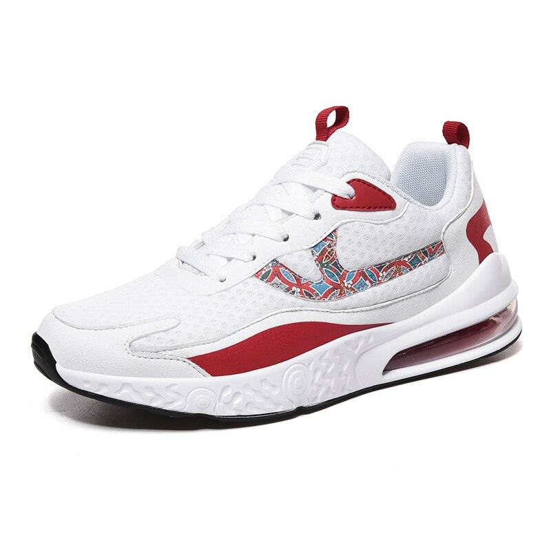 حذاء رياضي شبكي كلاسيكي للرجال ، حذاء كاجوال عصري مسامي ، للركض في الهواء الطلق ، بطول 46 مترًا