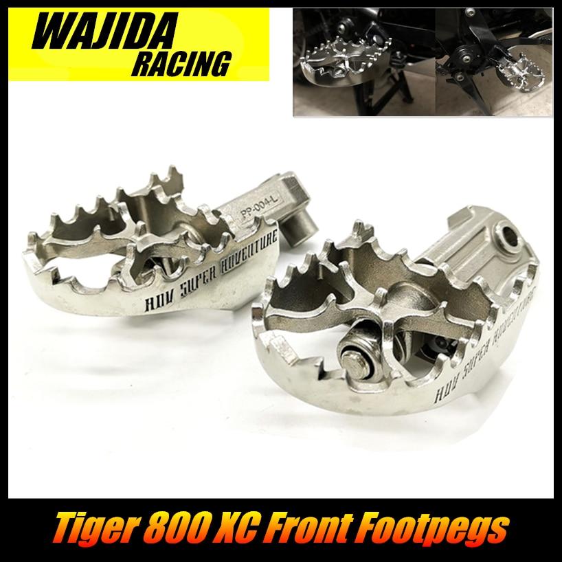 Accesorios para motos Triumph Tiger 800 XC, estriberas frontales, reposapiés