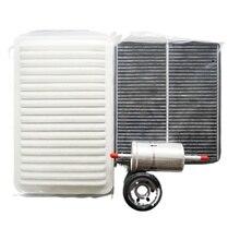 Комплект фильтров для mazda 2 1,5 1,6 air + масло + воздушный элемент салона + бензиновый фильтр Φ DG81V3101 5M51 9155 AA