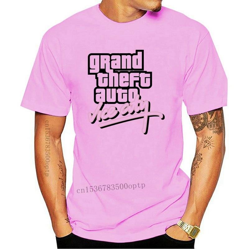 New Grand Theft Auto Gta Vice City T Shirt Cotton Lycra Top Fashion Brand T Shirt 2021 Diy Style High Quality