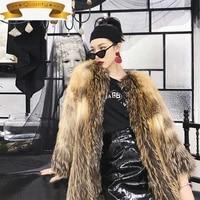 real fur women coat real fox fur winter coat women korean fashion coat for women clothes 2021 manteau femme yy114