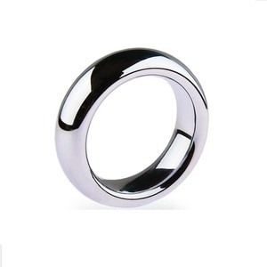 5 Size Male Stainless Steel Delay Gonobolia Cockring Penis Pendant Scrotum Bondage Ball Oschea Squeeze Testicles Adult Sex Toy 0