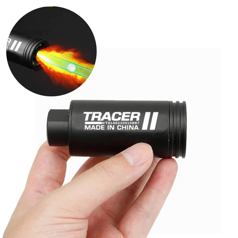 Airsoft Tracer Lighter Green Light Imitation Fire Tracing Paintball Pistol Simulation Shooting Fluorescent Effect NEW Equipment