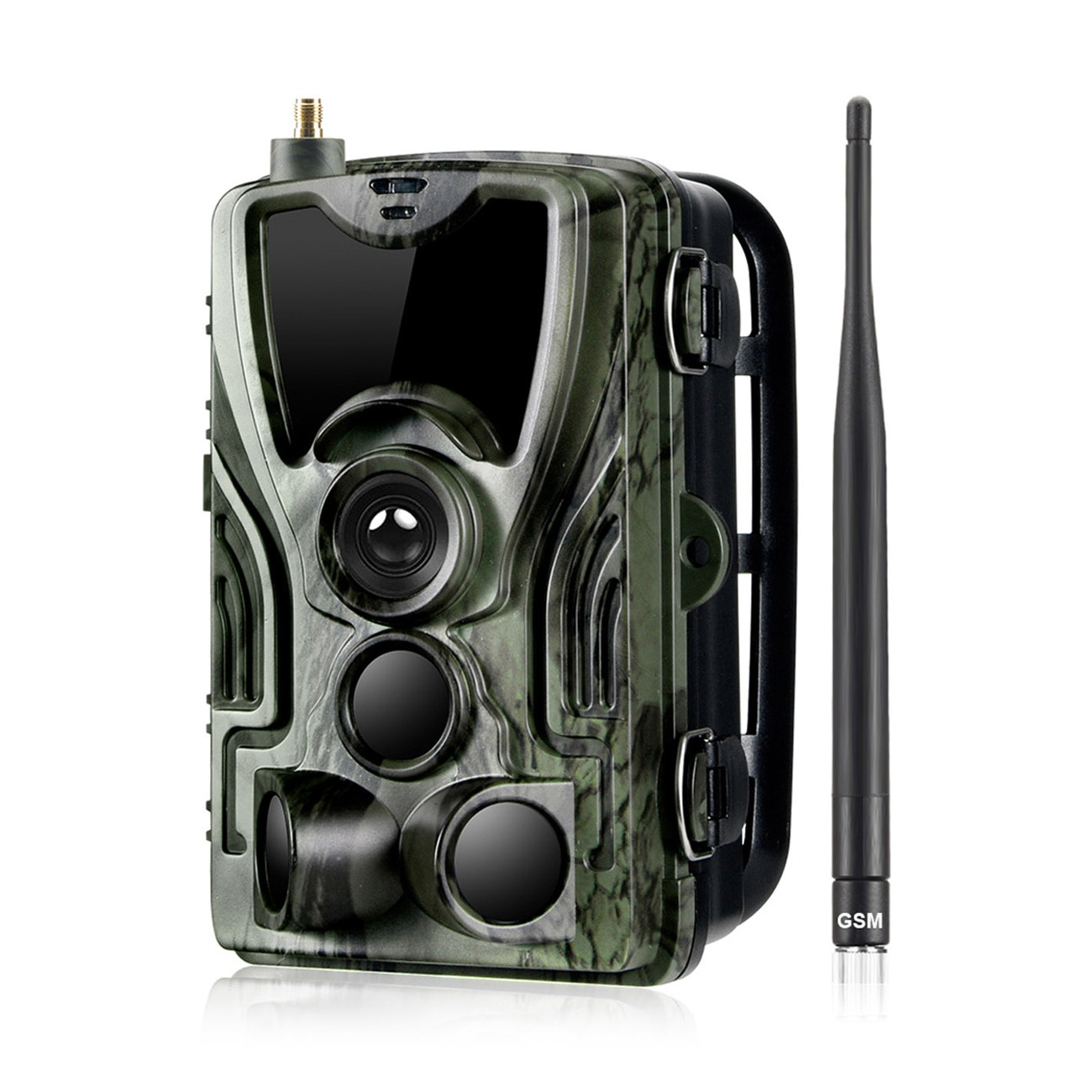 HC801M 2G Hunting Trail Camera 16MP 1080P MMS/SMTP/SMS Wildlife Camera 0.3s Trigger Photo Traps Night Vision Hunter Camera