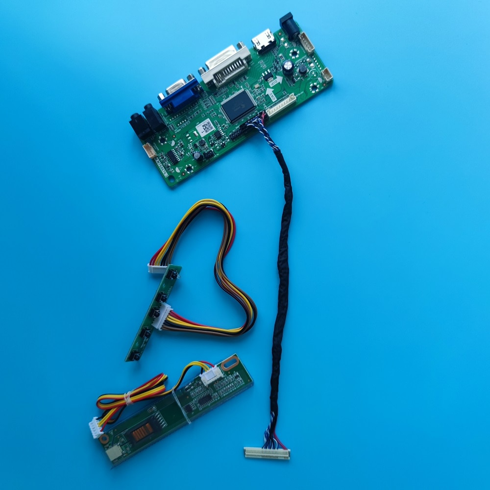 عدة ل HSD150PX14-A00/A07 1 مصابيح LVDS VGA إشارة 15