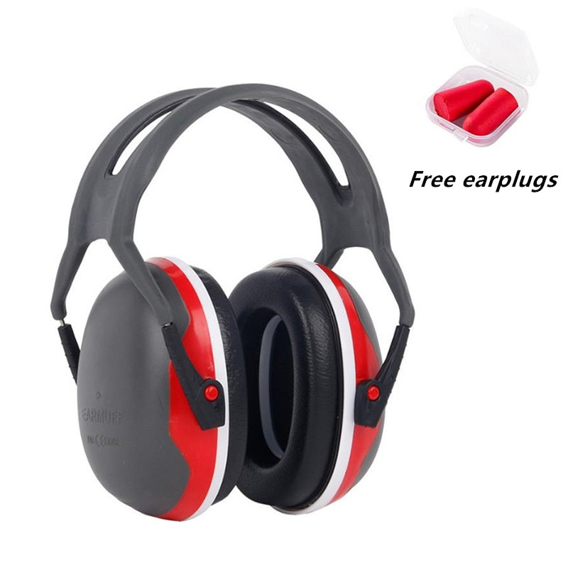 Hearing Protection Headphones Adjustable Soundproof Earmuffs Silence Noise Reduction Ear Protector for Shooting,Hunting,Sleeping zohan noise cancelling hunting hearing protection safety earmuffs ear defenders adjustable shooting ear protection protector