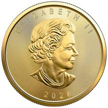 2020 Canada or défi pièces feuille dérable Commonwealth reine pièce commémorative recueillir cadeau jeton livraison directe Art Souvenir