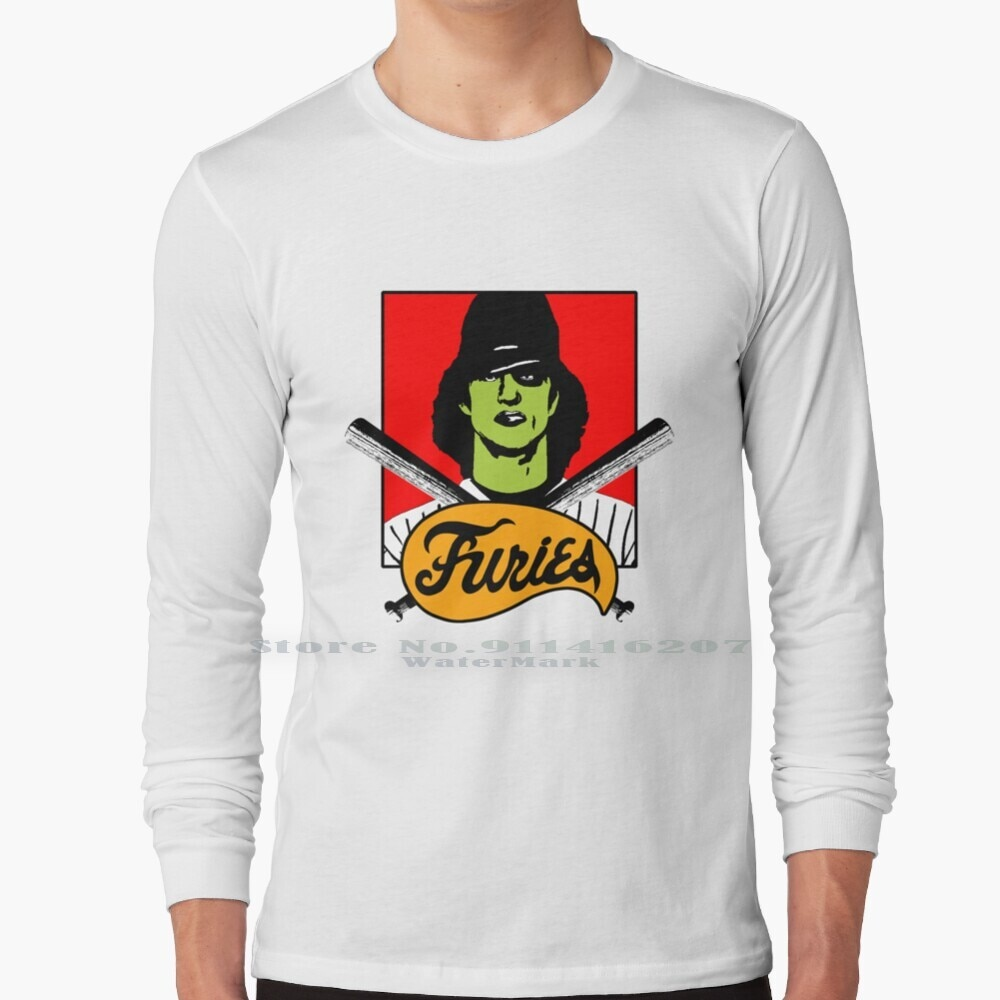The Furies T Shirt 100% Pure Cotton Furies Game Gamer Ps2 Ps4 70s 80s Film Retro Baseball Bat Gang Newyork Movie Vintage Nerd
