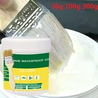 Colle transparente etanche  haute resistance  30 100 300g  resiste aux hautes temperatures et au gel  pour mur exterieur  toilettes  salle de bain