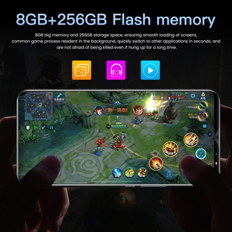 2021 Global Version Smartphone Note10 Pro 8G 256GB Telephone 48MP Camera Celular Daul SIM Card 4800mAh 4G 5G Mobile Cell Phone enlarge