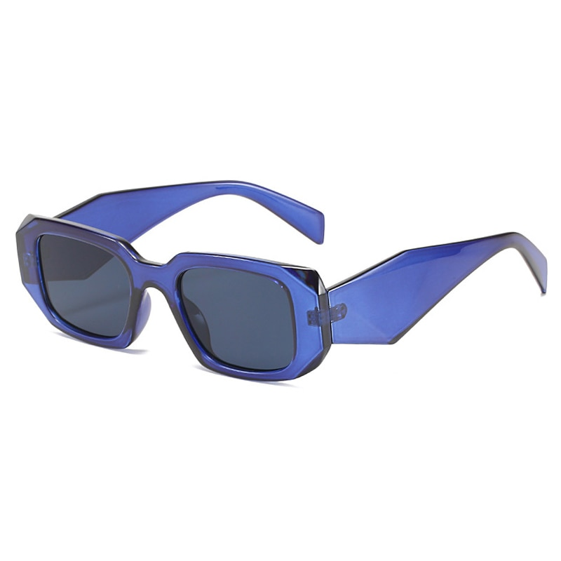 Fashion Rectangle Sunglasses Women Vintage Goggle Square Sun Glasses Ladies Small Frame Men Eyeglass