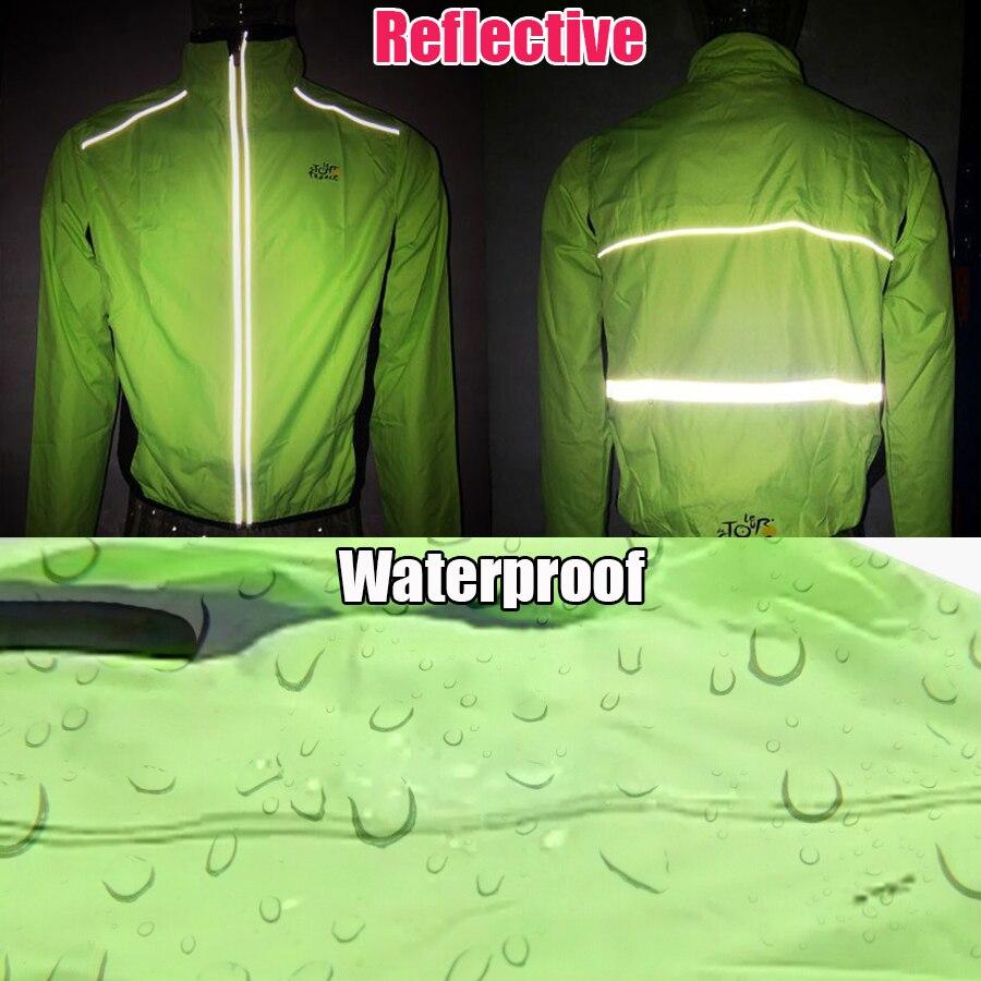 BATFOX manteau de cyclisme vélo veste de vélo manteau cyclisme vélo Jersey vêtements coupe-vent réfléchissant séchage rapide manteau vélo équipement