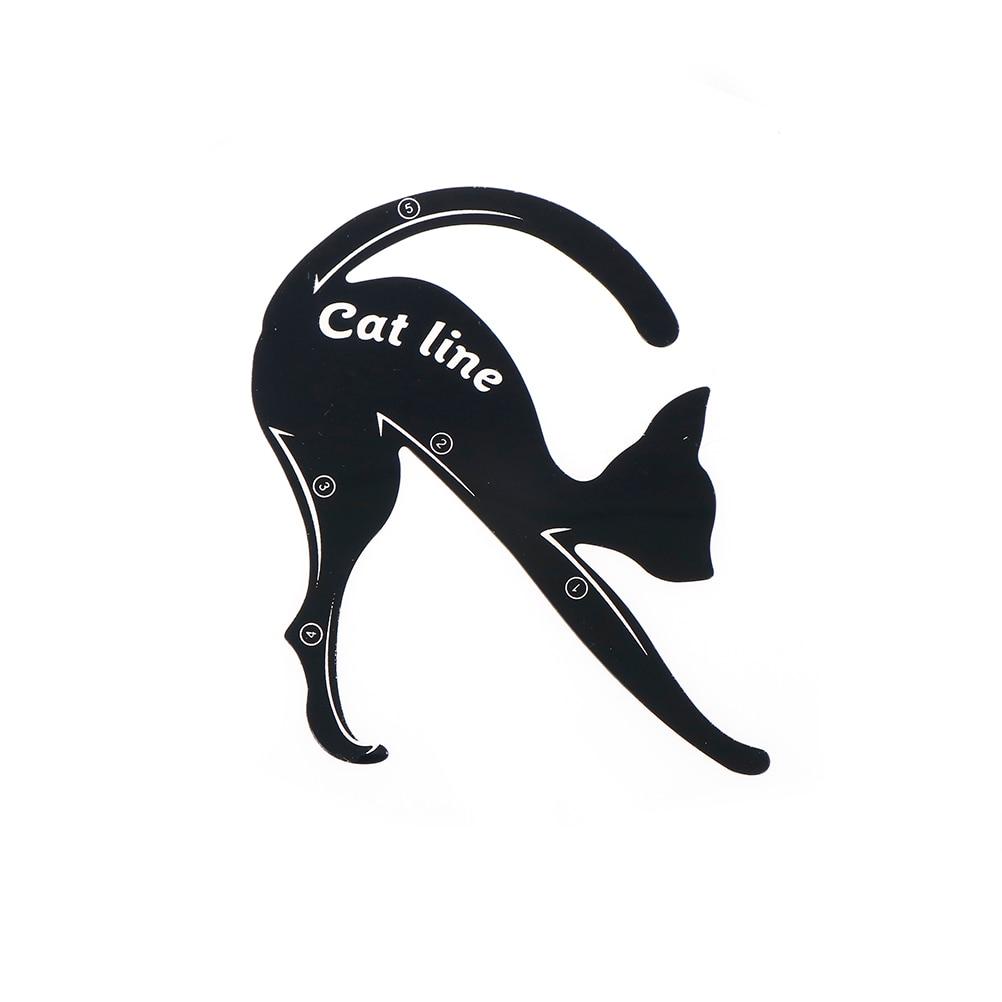 2pcs/lot New Cat Line Eye Makeup Eyeliner Stencils Templates Shaper Tool Makeup Tools Kits For Eye Accessories