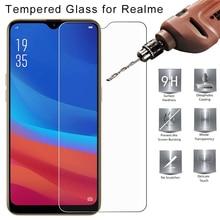 9H HD закаленное стекло для Realme XT X Q C1 C2 Защитное стекло для Realme X2 Pro U1 Защитная пленка для экрана OPPO Стекло для телефона