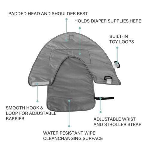 Newborn Baby Portable Diaper Changing Pad Outdoor Waterproof Baby Diaper Changing Pad Foldable Nappy Mat