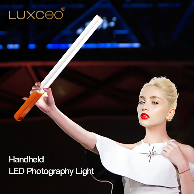 Camera Video Light Portable Handheld LED Video  Ice Light USB Rechargeable Photography Lamp Stick Dimmable with Remote Control