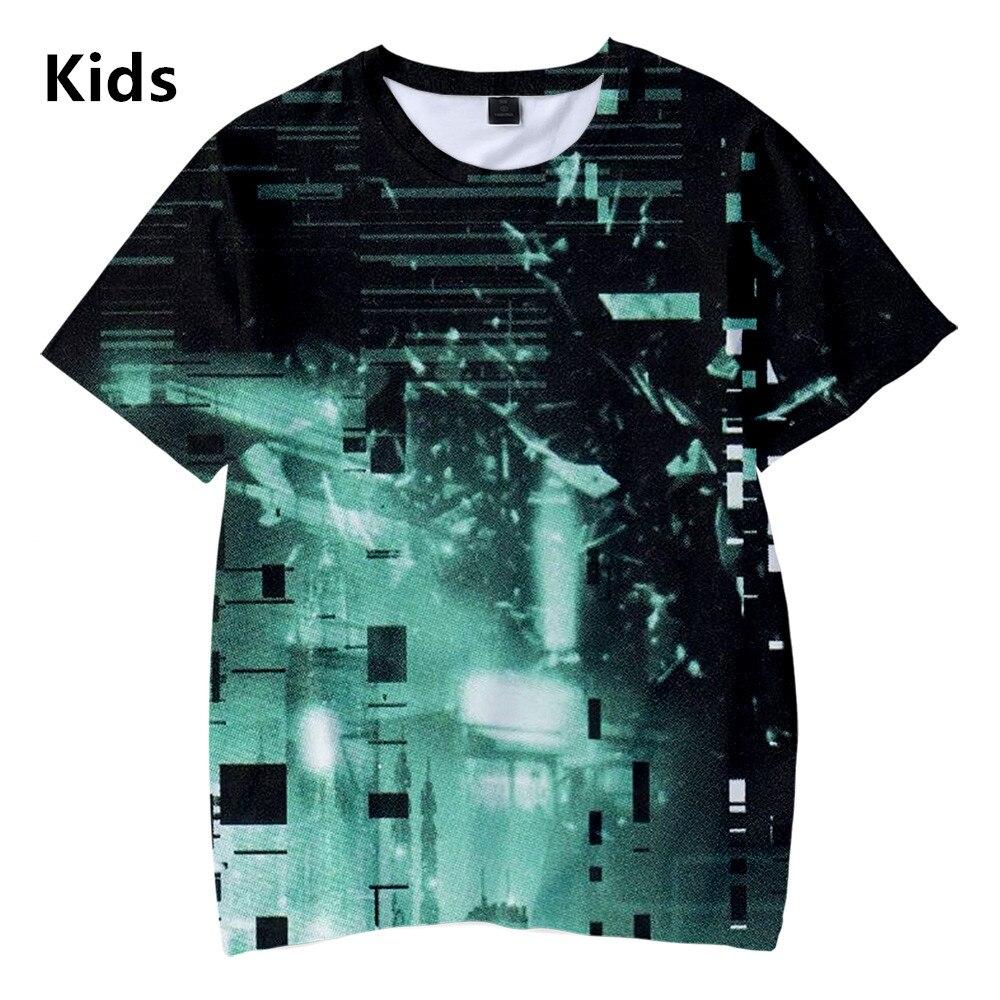 Psycho-Pass 3D Kids Children T-shirt Streetwear Casual Boys Girls 2019 New 3D Short Sleeve Tshirt Kids 110-160cm