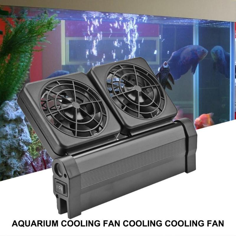 Ventilador de refrigeración de acuario de gran potencia gran alcance de aplicación enfriador de Control de temperatura de varios ángulos