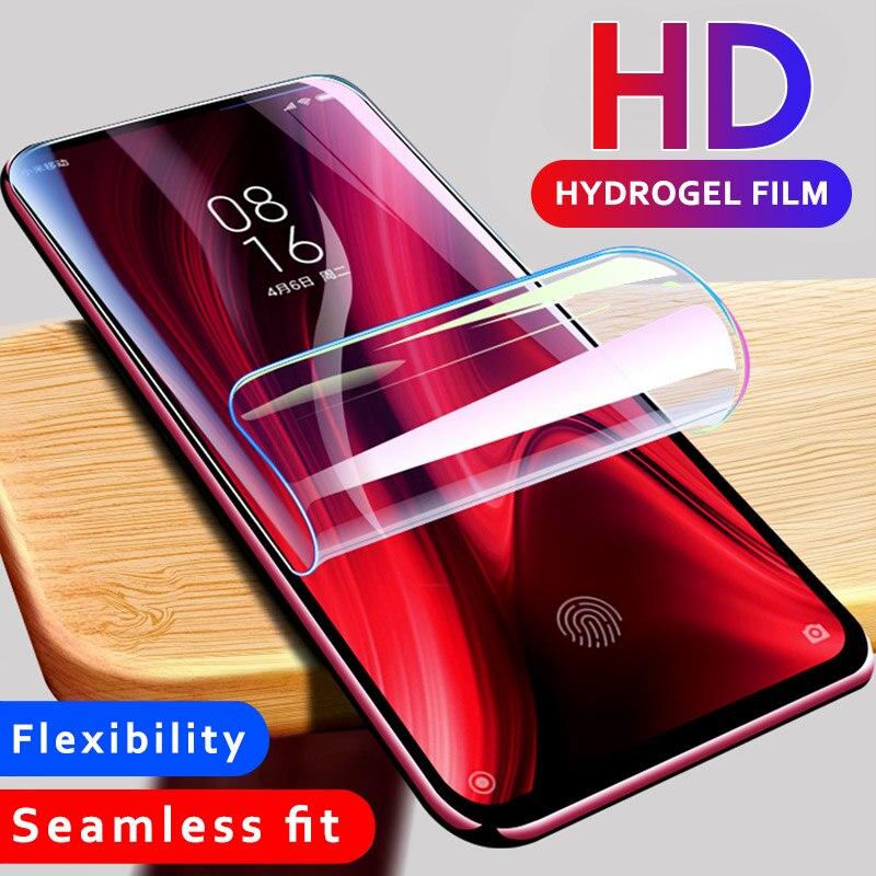 9D de hidrogel de vidrio para Xiaomi mi 9t Pro mi 9 se mi 9t Protector de pantalla de la película por vidrio Xiaomi mi 9X mi CC9 cc9e mi A3 Lite mi 9 Lite