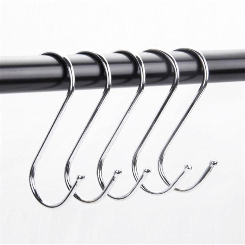 10 bucăți din oțel inoxidabil cârlig în formă de S pentru - Organizarea și depozitarea în casă - Fotografie 6