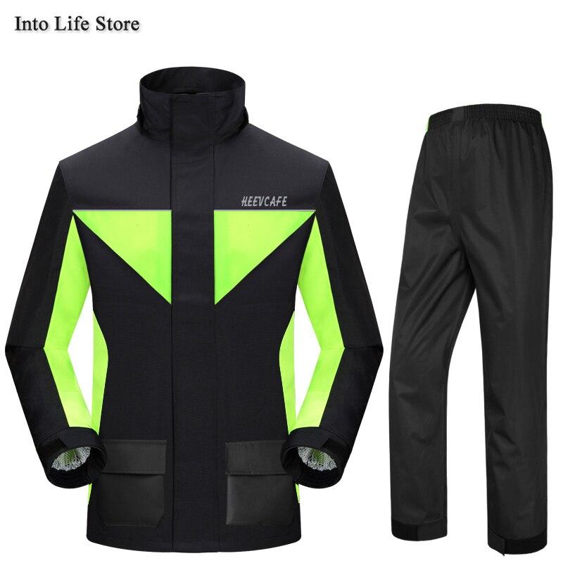 Motorcycle Raincoat Rain Pants Suit Outdoor Red Rain Coat Jacket for Men Waterproof Rain Poncho Rainwear Camping Gift Ideas enlarge