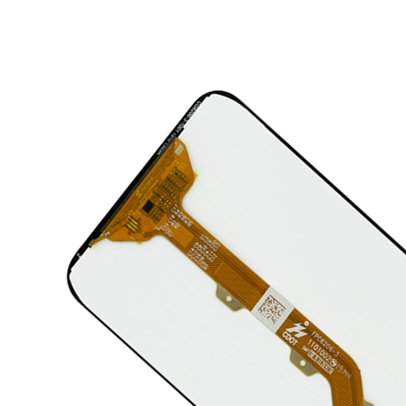 """For Tecno Camon 11s CB7 LCD Display + Touch Panel Screen Digitizer Glass Combo Assembly Replacement Parts Original Black 6.2"""""""