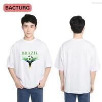 brazilian cultural elements t shirt men and women children youth career cartoon 3d printing casual street short sleeved t shirt
