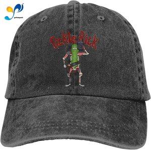 Pickle Rick Unisex Adult Cap Adjustable Cowboys Hats Baseball Cap Fun Casquette Cap.