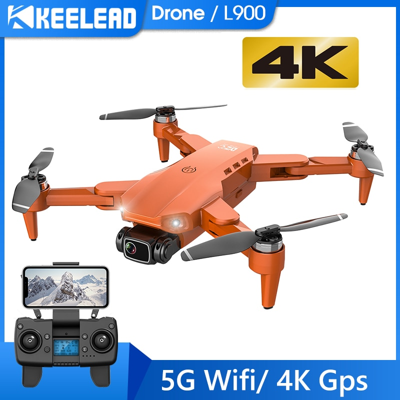 Drone Keelead L900 5G GPS 4K avec caméra HD FPV 28min temps de vol moteur sans brosse quadrirotor distance 1.2km drones professionnels