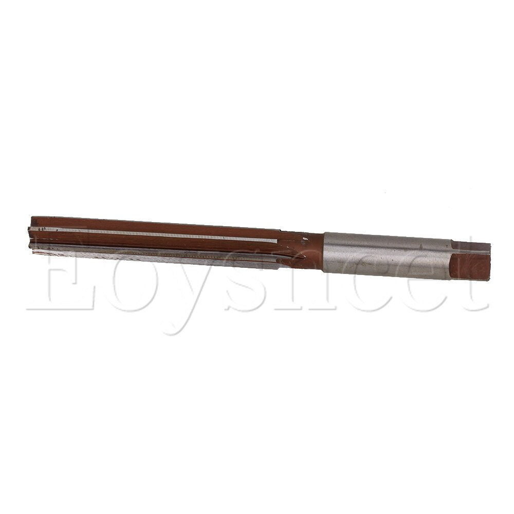 H7 14mm x 160mm Cutting Dia High Speed Steel Straight Shank Hand Reamer enlarge