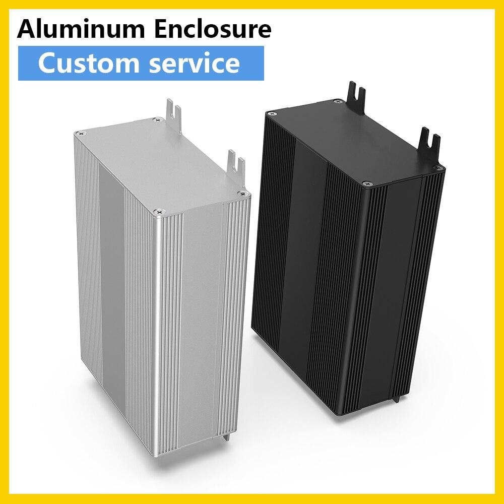 علبة ألومنيوم رقمية متعددة المقاييس ، صندوق معدني Pcb ، حاوية تصنيع إلكترونية متعددة ، H18 106*54 مللي متر