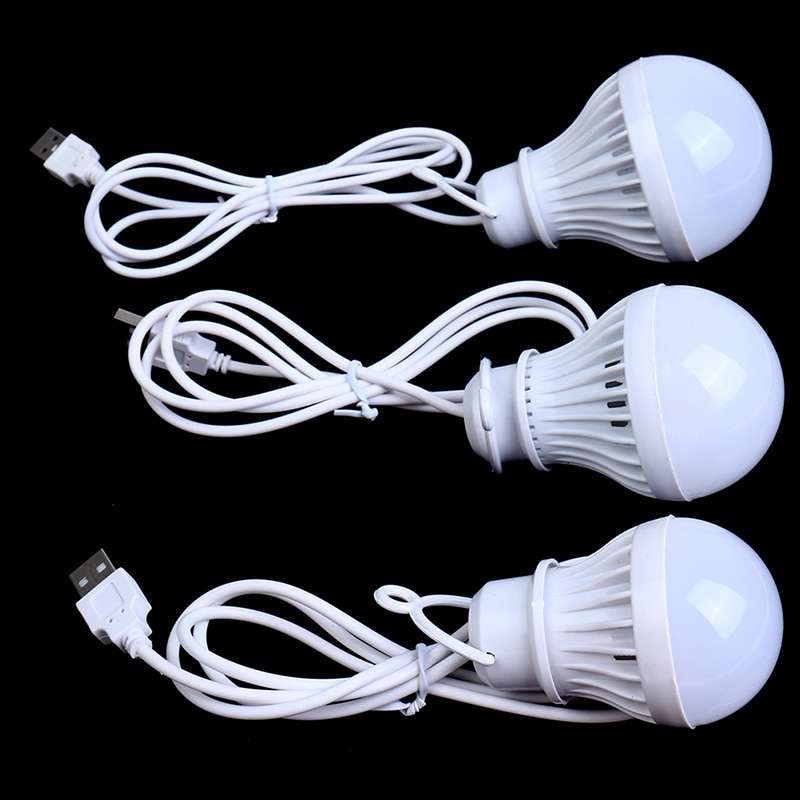 Le Camp portatif de lanterne allume lampoule dusb 3W/5W/7W outil Multi de Camping extérieur de puissance