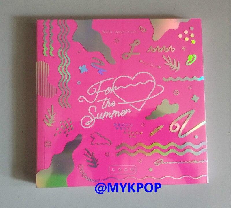 mykpop 100 original oficial wjsn para o verao album cd sa19070304 ver rosa