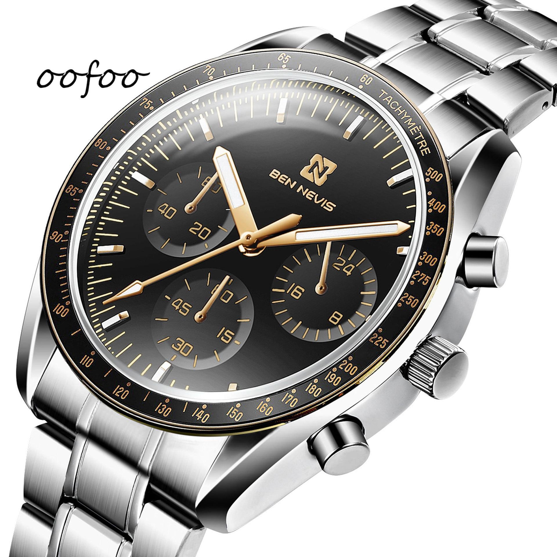 2021 New Hot Selling Fashion Quartz Couple Watch Business 30 Meters Waterproof Alloy Dark Buckle Str