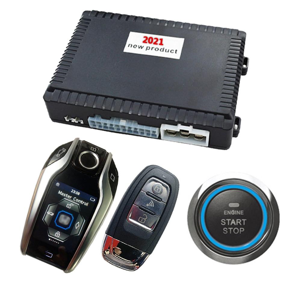 Cardot Car Alarm Ignition System Remote Start Stop Engine Keyless Entry System