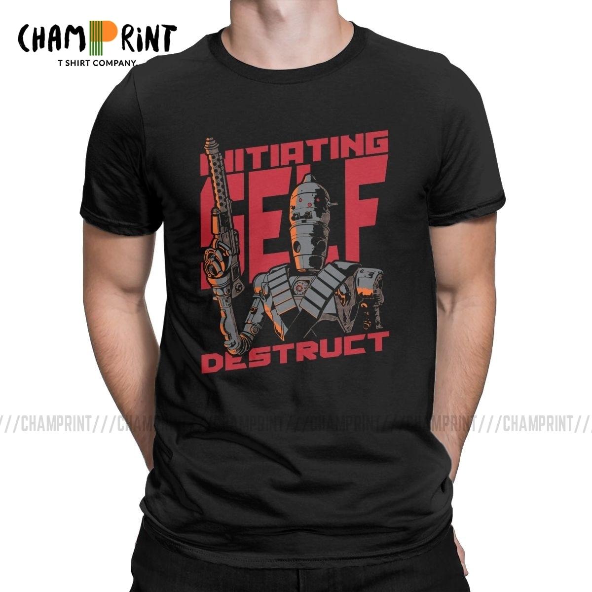 Hipster auto destructivo camiseta para hombres cuello redondo 100% algodón camiseta Mandalorian Star Wars camisetas de manga corta Camisetas de talla grande