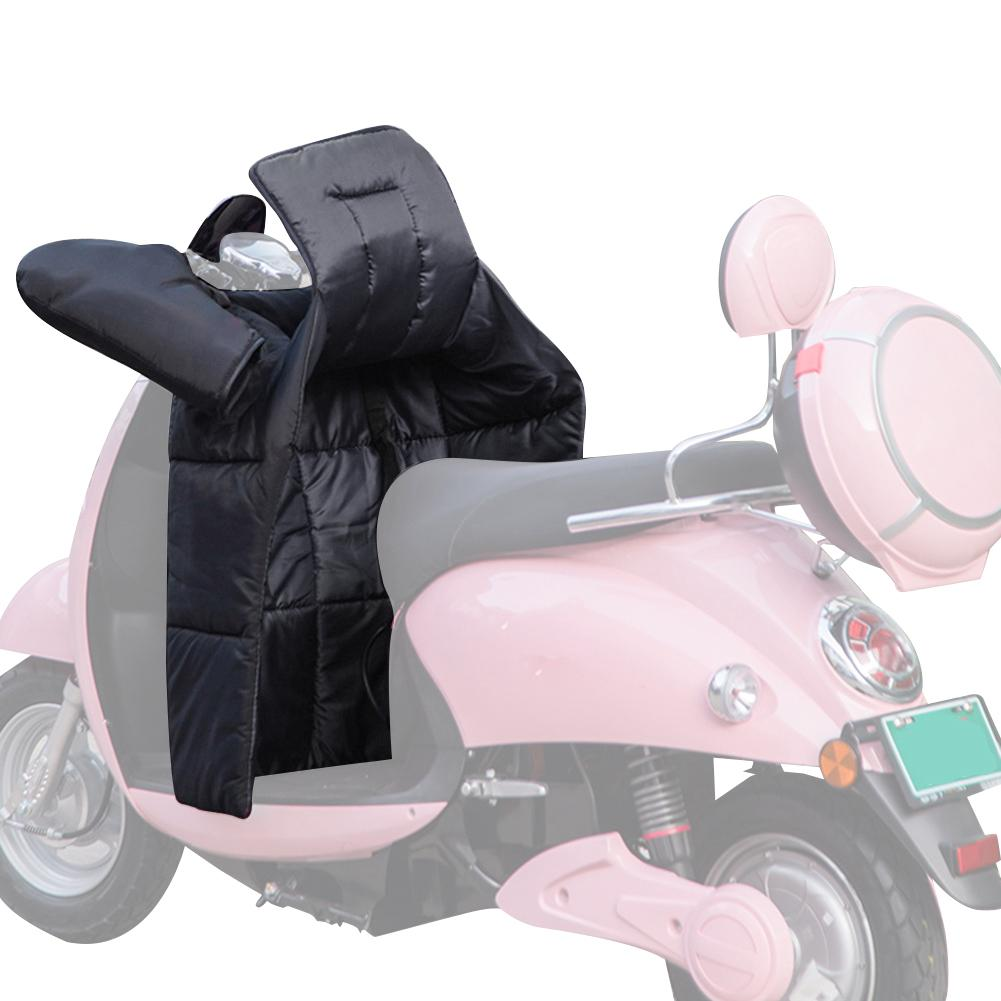 Motorcycle Leg Apron Windshield Split Double-sided Waterproof Thickening Plus Velvet With Grip Keep Warm In Winter