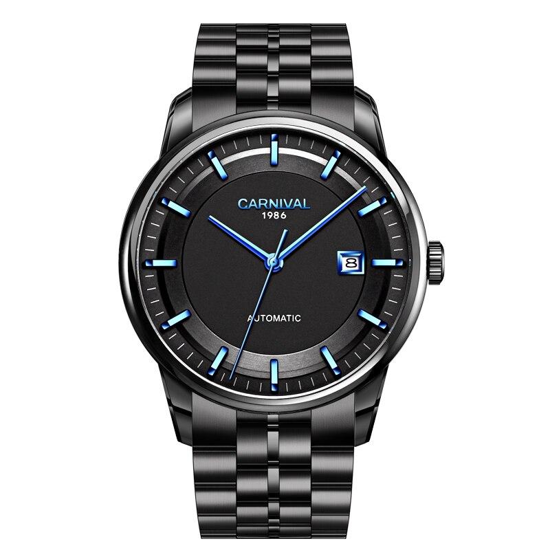 Reloj Automático de moda MIYOTA, marca de lujo, reloj mecánico de Carnaval con espejo de zafiro, relojes impermeables para hombre 2020