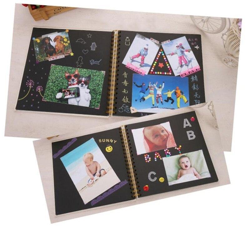 Álbum de fotos de 20 páginas DIY para niños, álbum de recortes, álbum de fotos para niños, álbum de fotos Diy