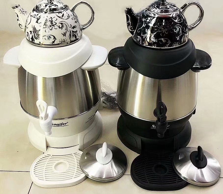 Electric Kettle Stainless Steel Kitchen Smart Whistle Kettle Samovar Tea pot Thermo pot With Temperature Adjusted Sonifer